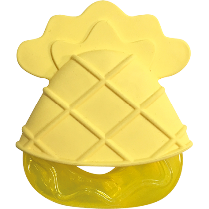 Tigex cooling teething ring pineapple