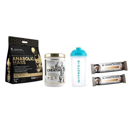 Kevin Levrone Anabolic Mass 7 Kgs - 70 Servings + 4 Products - Vanilla