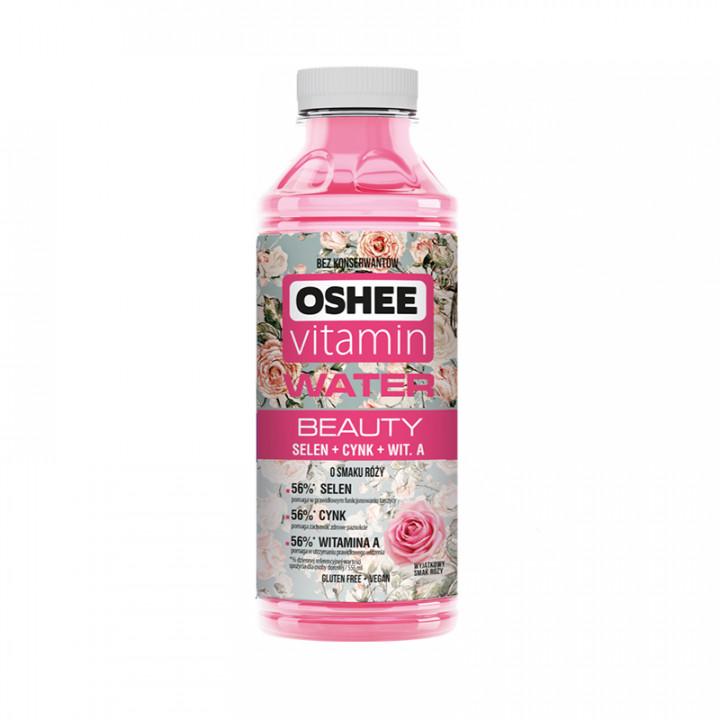 OSHEE VITAMIN  WATER ROSE 555ml