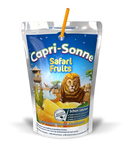 Capri Sun Safari Fruits 200ml