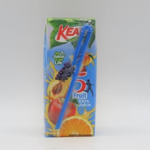 KEAN 5 FRUIT JUICE 250ml