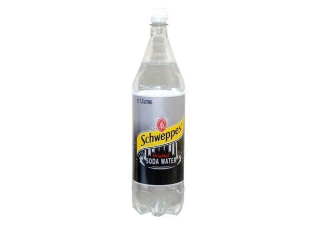 SCHWEPPES SODA WATER 1.5L