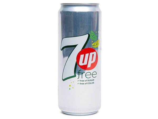 7UP SUGAR FREE 330ML
