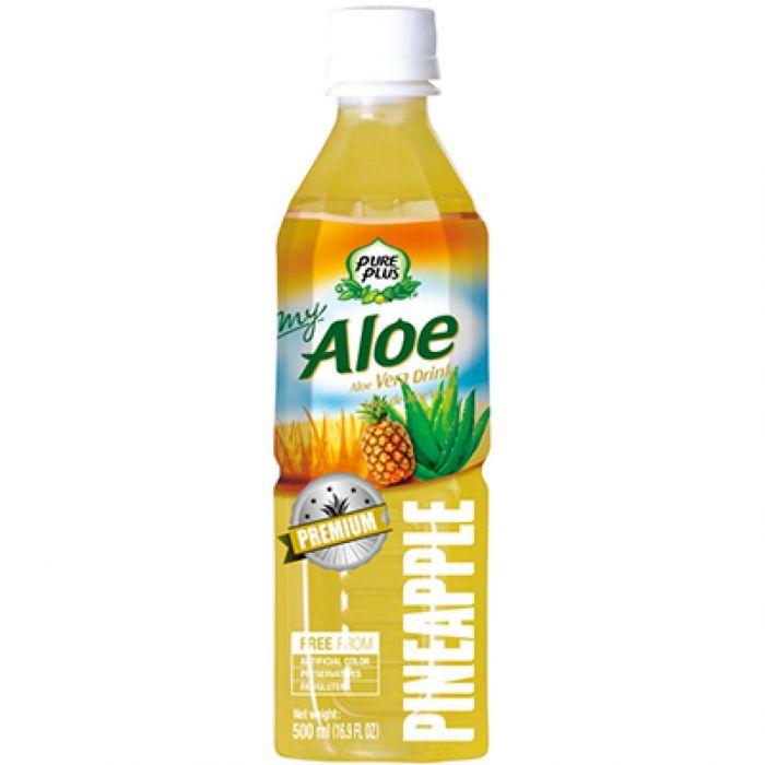 Aloe Vera Pure Plus Pineapple 500ml