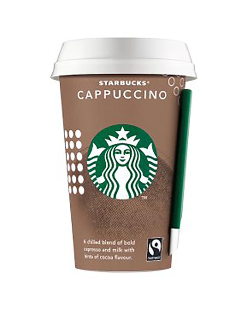 STARBUCKS CAPPUCCINO COFFEE 220ML