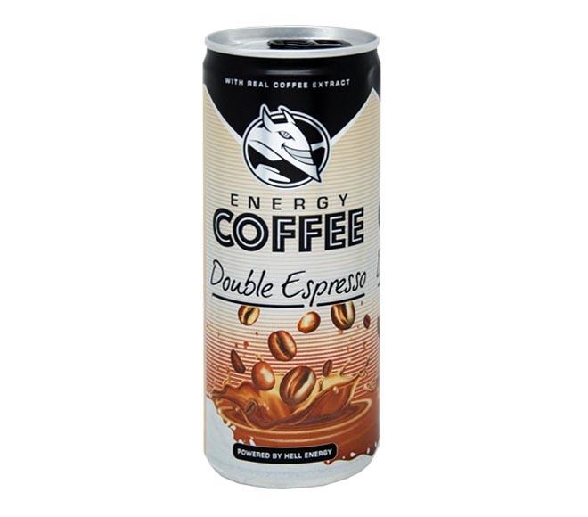HELL ENERGY COFFEE DOUBLE ESPRESSO 250ML