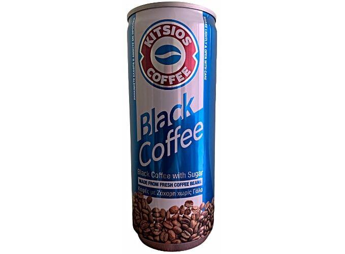 KITSIOS BLACK COFFEE  SUGAR 240ML