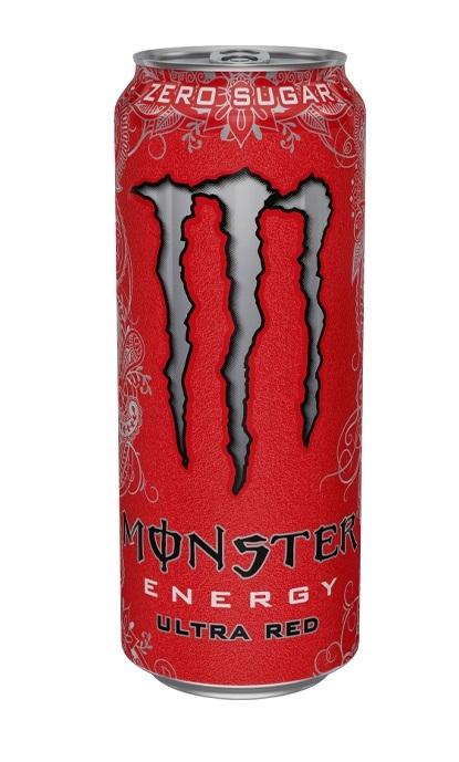 MONSTER ENERGY DRINK ULTRA RED 500ml