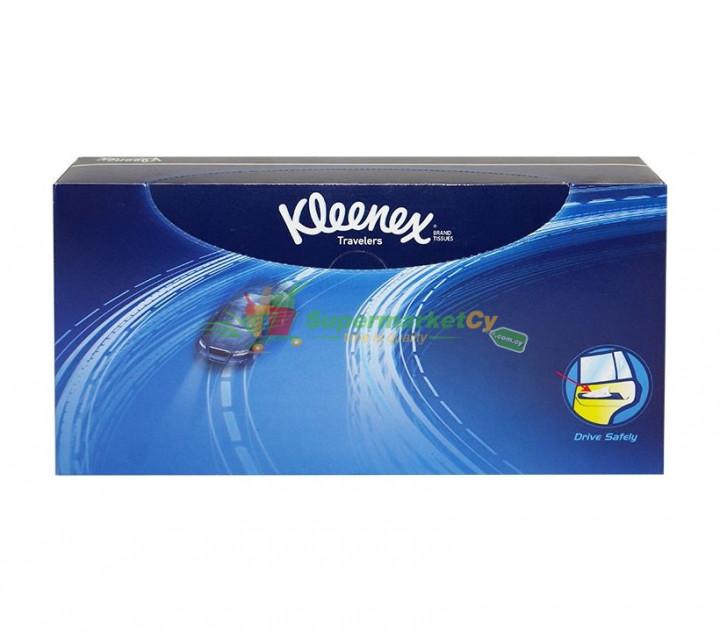 KLEENEX TRAVELERS TISSUES 50 PIECES