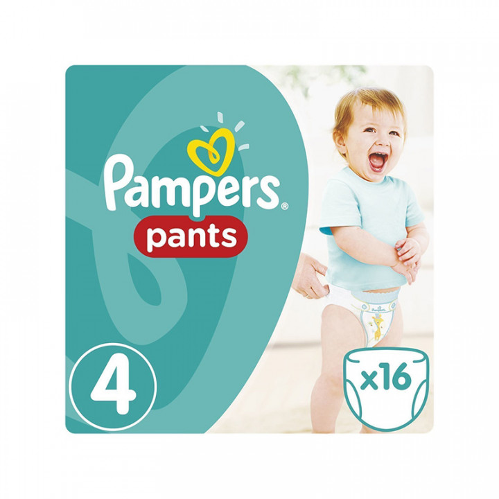 PAMPERS Pants No 4 (9-14kg)