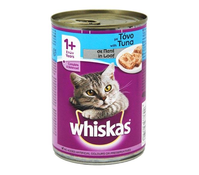 WHISKAS CAT WET FOOD TUNA 390G