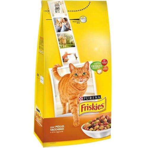 FRISKIES CAT DRY FOOD WITH CHICKEN 2KG