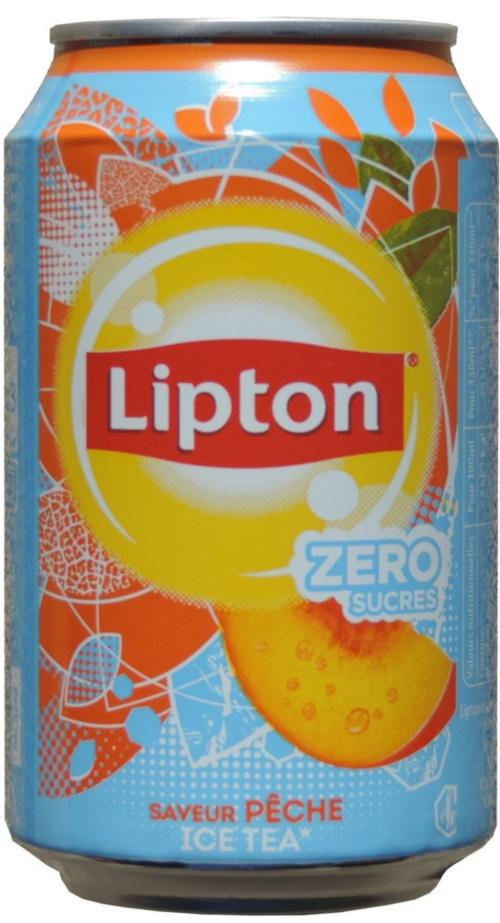 LIPTON PEACH ZERO 330ml