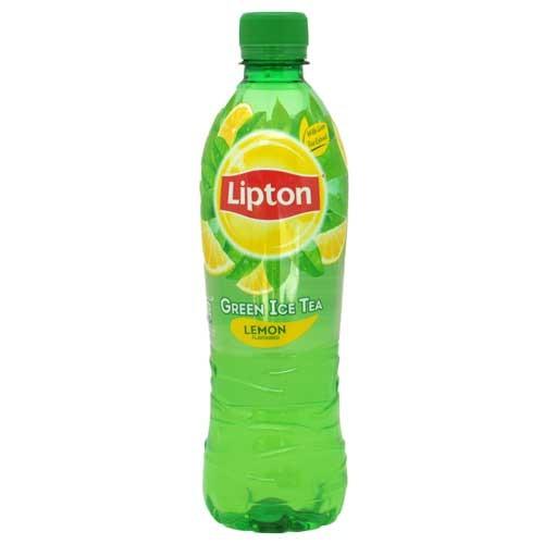 LIPTON GREEN ICE TEA LEMON 500ml