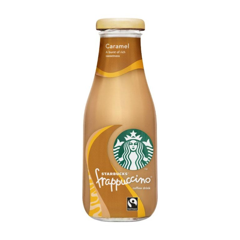 Starbucks Frappuccino Coffee Drink with Caramel 250 ml