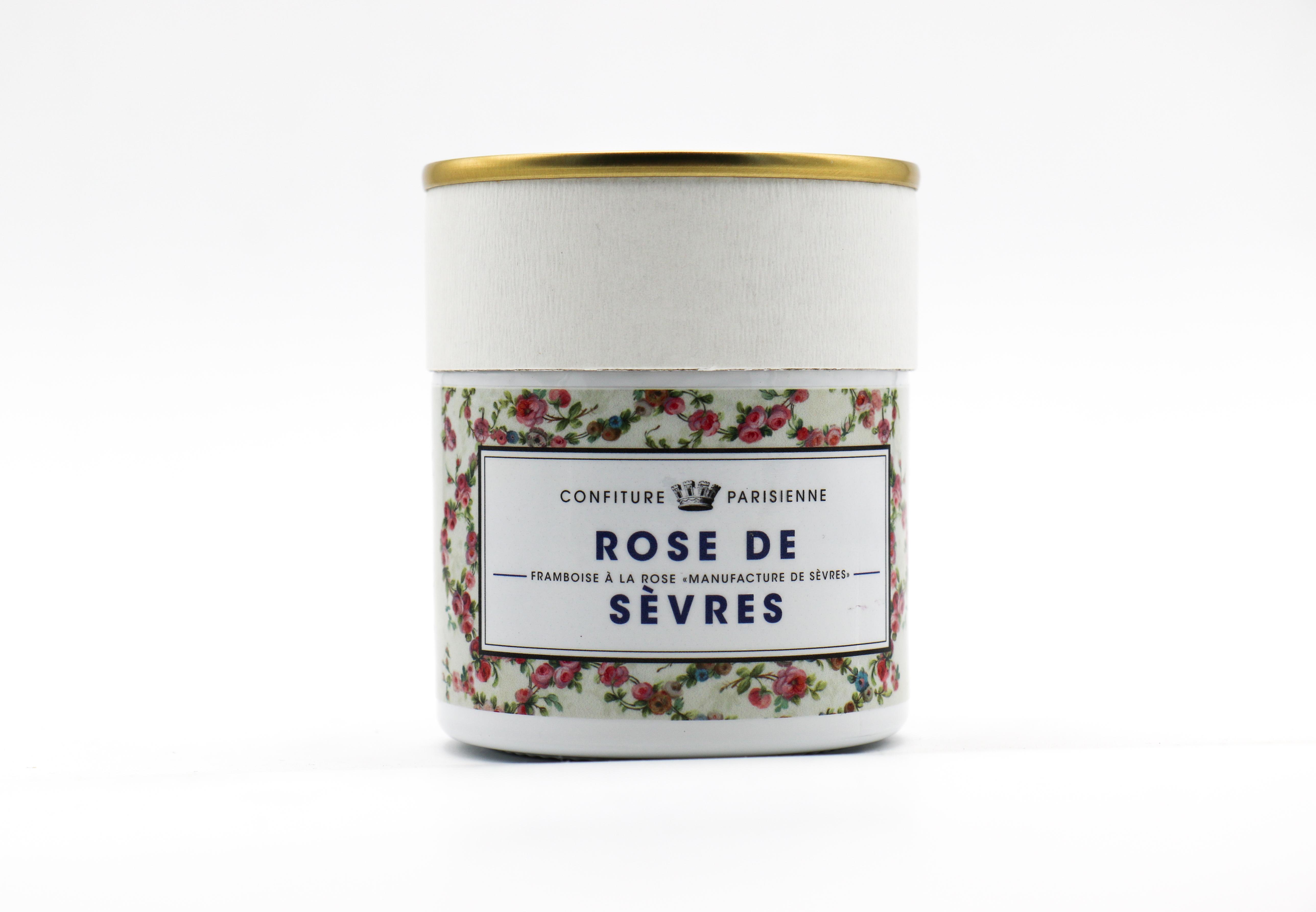 CONFITURE PARISIENNE ROSE DE SEVRES (RASBERRY & ROSE)