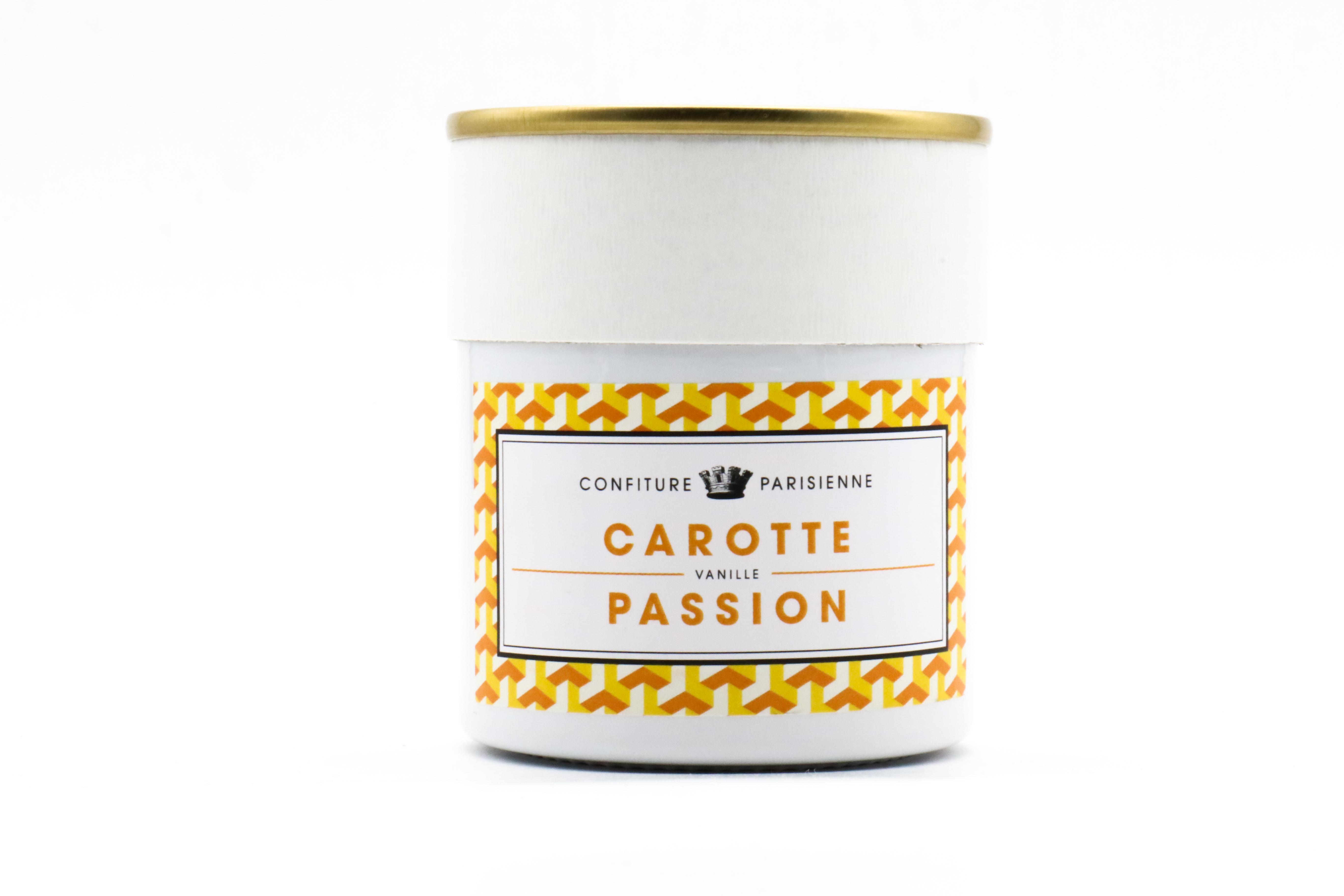 CONFITURE PARISIENNE CARROT VANILLA PASSION FRUIT