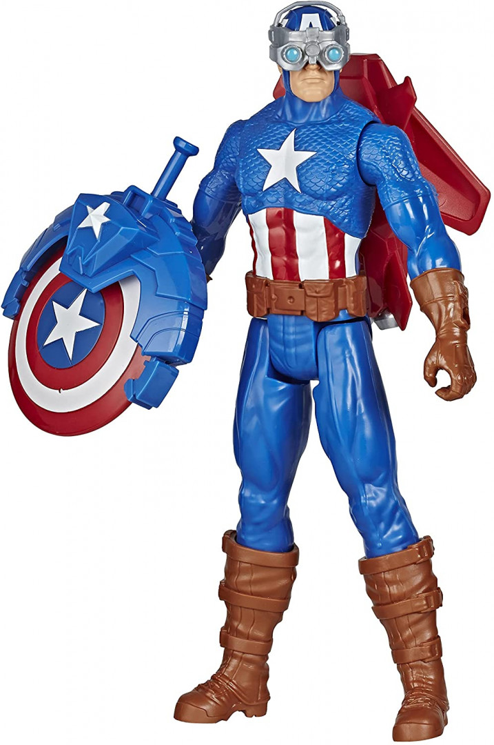 Hasbro Marvel Avengers Blast Gear: Titan Hero Series - Captain America