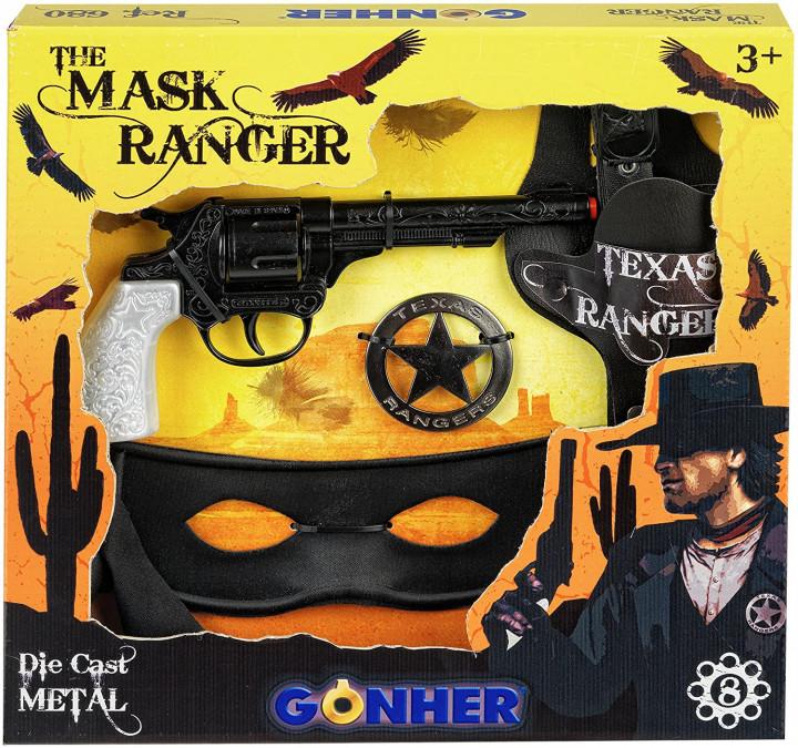 Gonher The Mask Ranger Revolver 8 shots Playset
