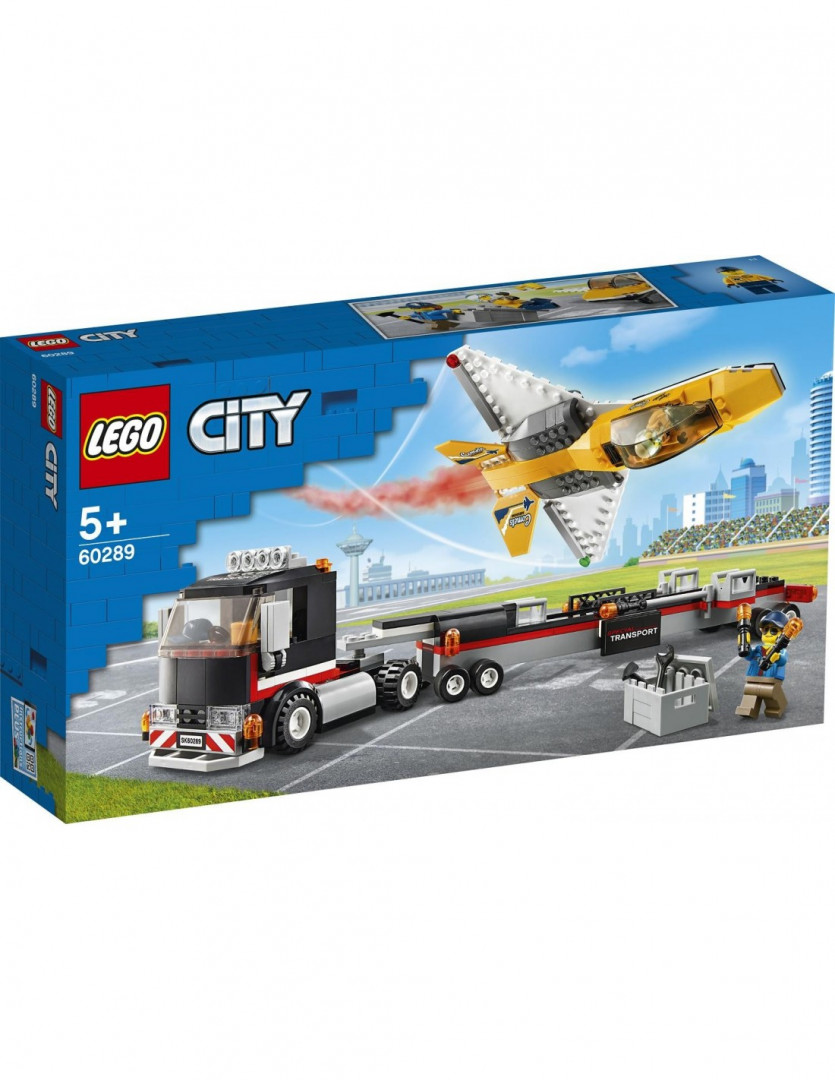 LEGO® City Great Vehicles: Airshow Jet Transporter (60289)
