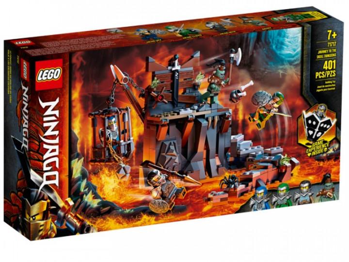 LEGO® NINJAGO®: Journey to the Skull Dungeons (71717)