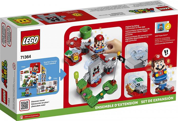 LEGO® Super Mario™:  Whomp's Lava Trouble - Expansion Set (71364)