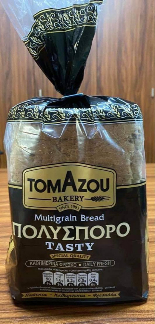 Bread Multi Grain Sliced Bread Tomazou 600g