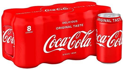Coca Cola 8x330ml