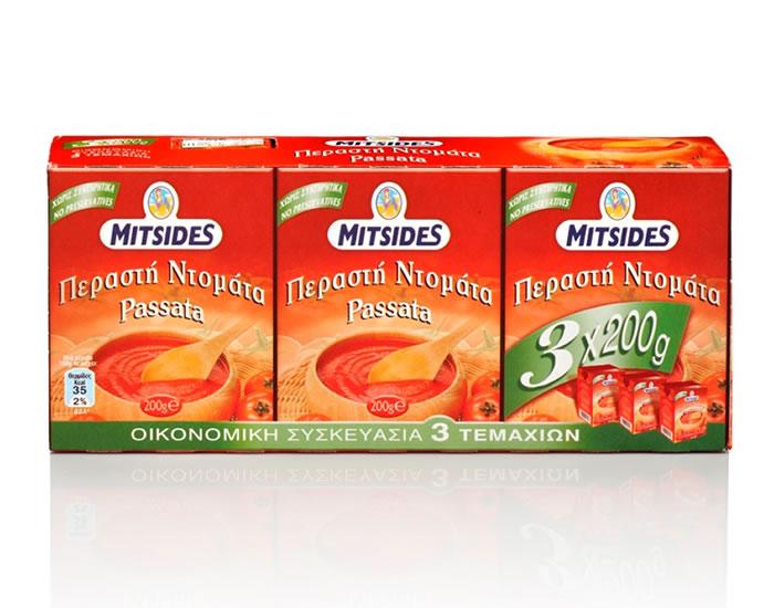 Passata Tomato 'Mitsides' 3X200g