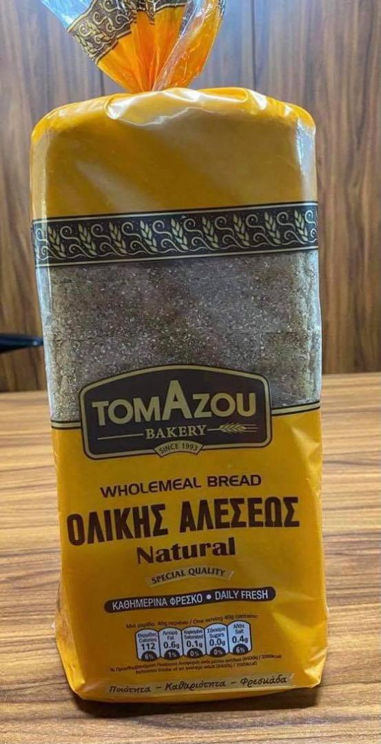 Whole Grain Bread Tomazou 900g