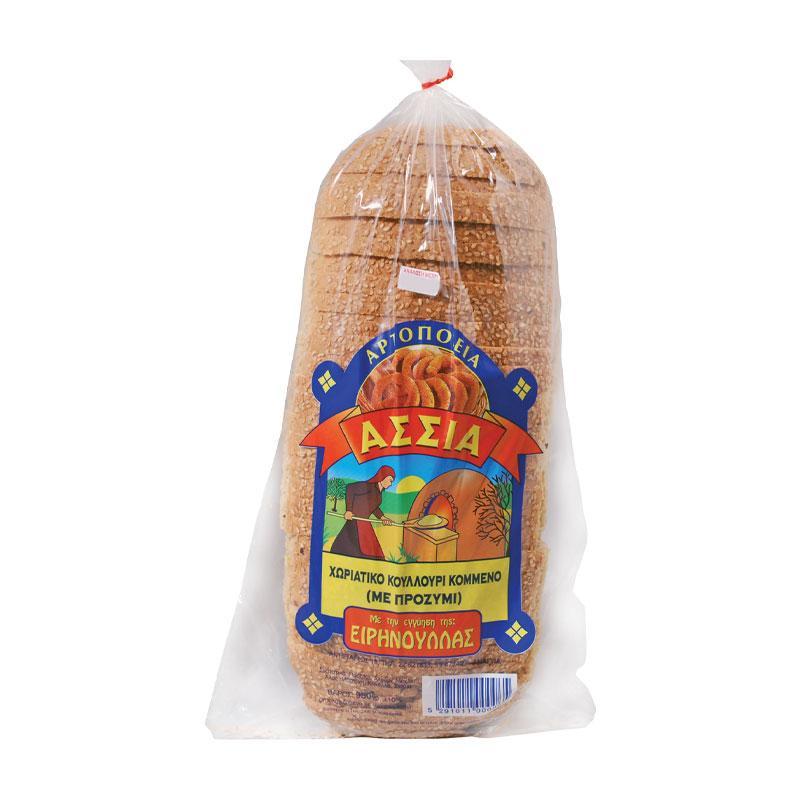 Village Bread Sourdough Cut Assia 950g