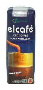 EL CAFÉ ICED COFFEE BLACK WITH SUGAR 250ML