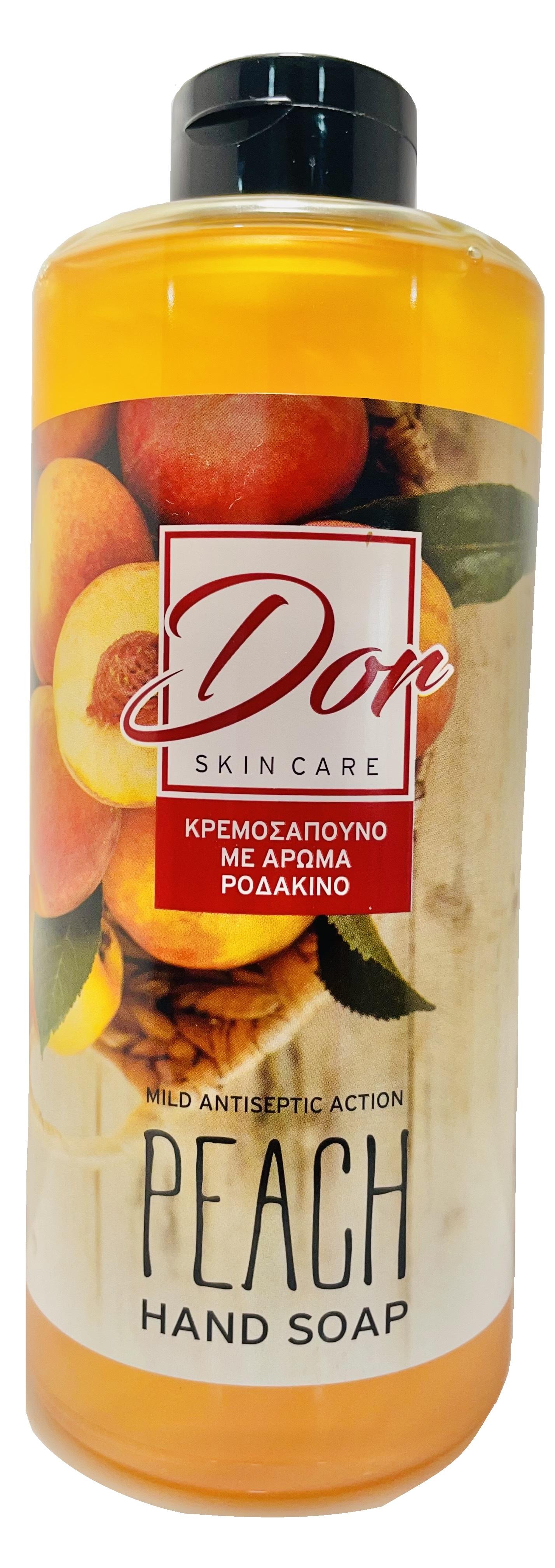 DOR HAND SOAP PEACH ANTICEPTIC REFILL 1L