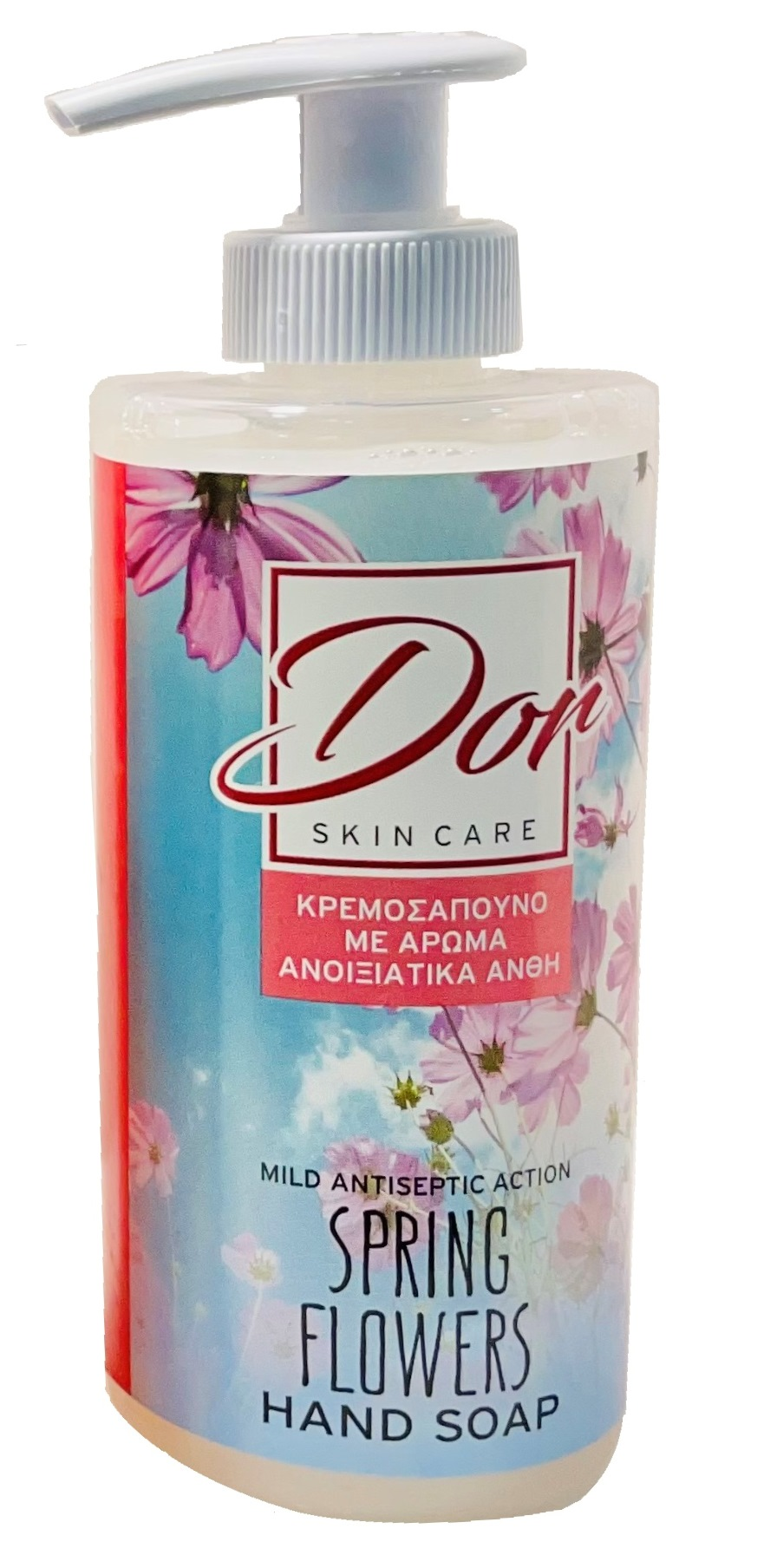 DOR HAND SOAP FLORAL ANTICEPTIC 300ML
