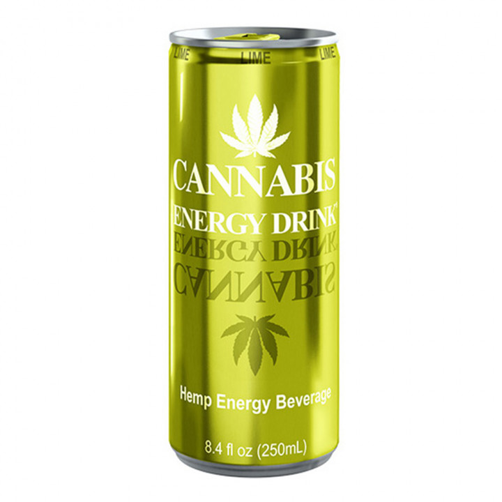 CANNABIS ENERGY DRINK LIME 250ML
