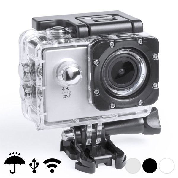 "Sports Camera 4K 2"" 360º WIFI"