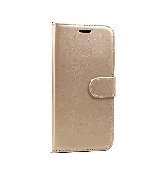 Gold Book Case for Samsung Galaxy A71