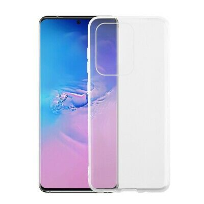 Clear Soft Ultra Thin Silicone Back Cover for Samsung Galaxy S20 Plus