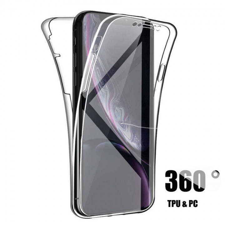 360 Silicone Clear Case for Samsung Galaxy S20 Plus