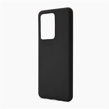 Black Silicone Soft Back Cover for Samsung Galaxy S20 Plus