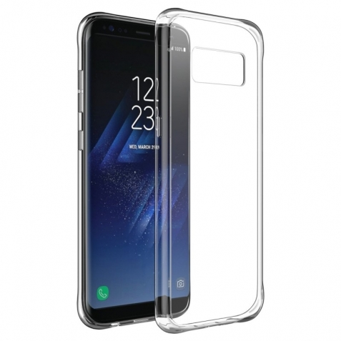 Ultra Slim Clear Silicone Soft Back Cover for Samsung Galaxy S8 Plus