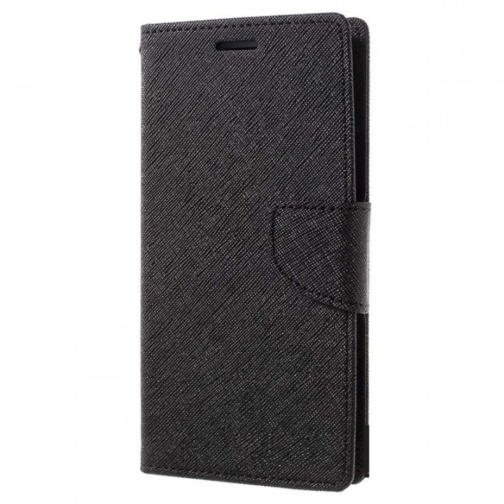 Black Magnetic Book Case for Samsung Galaxy Note 10 Lite