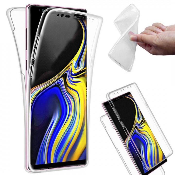 360 Slim Clear Silicone Case for Samsung Galaxy Note 9