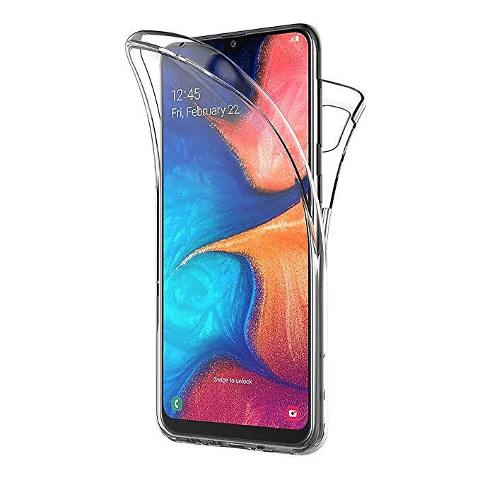 360 Slim Silicone Clear Case for Samsung Galaxy A20e