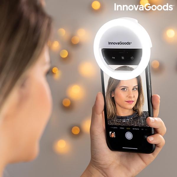 InnovaGoods Rechargeable Selfie Ring Light Instahoop