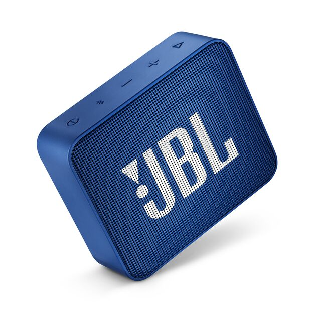 JBL Go 2 Mini Portable Wireless IPX7 Waterproof Bluetooth Speaker Blue