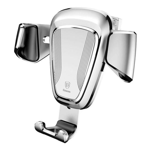 Baseus Car Mount Gravity Phone holder Silver
