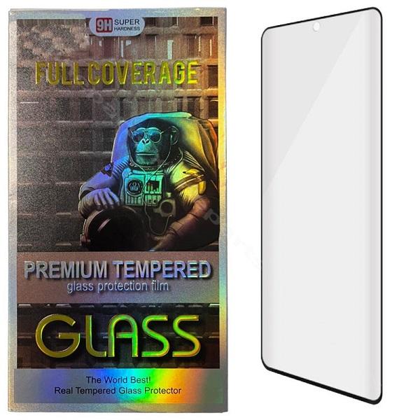 Tempered Glass Edge Glue Samsung Note 20 Ultra N985 black (Case Friendly)