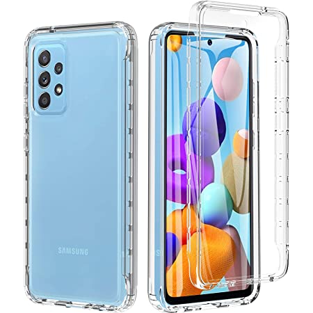 Back Case ShockProof for Samsung Galaxy A52 5G A526 clear