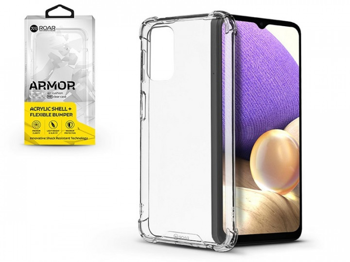 Armor Jelly Case Roar for Samsung Galaxy A72 Transparent